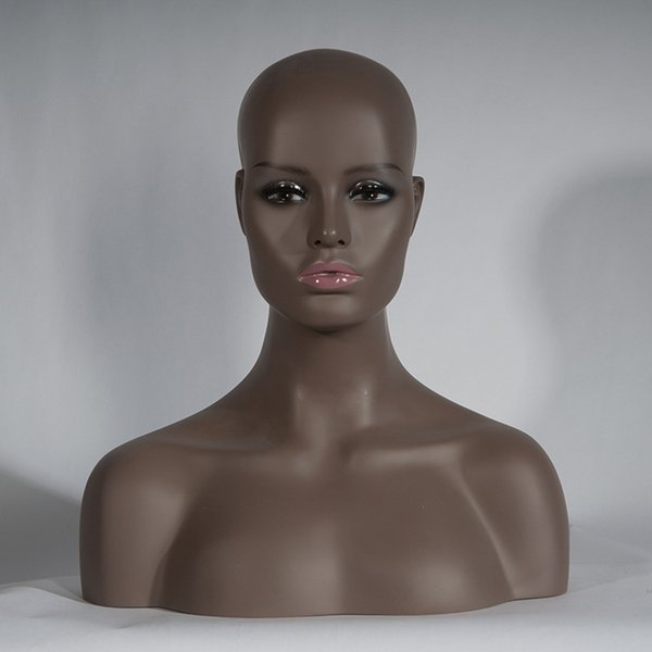Mannequin Head Bust Makeup Female For Lace Wigs Display