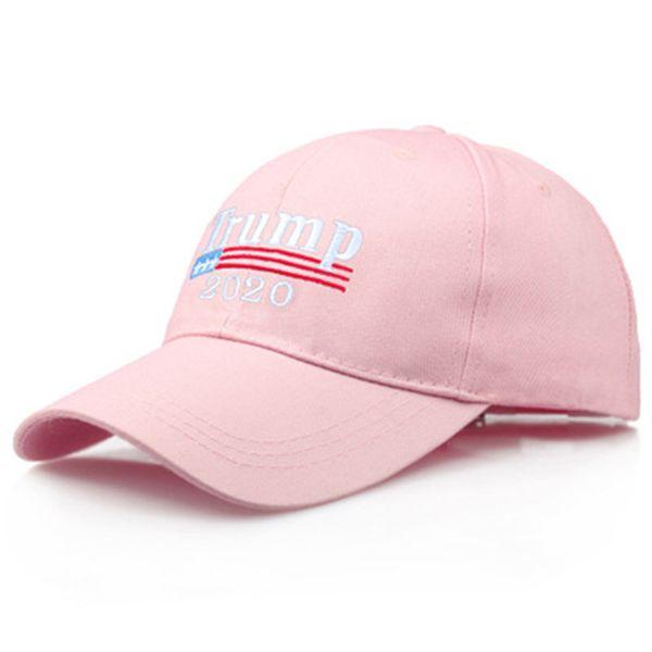 Bordado Trump 2020 Make America Great Again Donald Trump Gorras de béisbol Sombreros Gorras de béisbol Adultos Deportes Sombrero 3 Color 30pcs