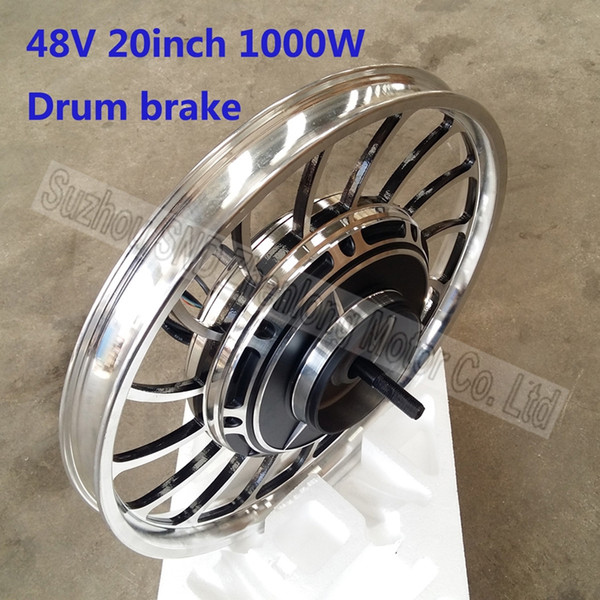 Electric bike hub motor 20inch integrated wheel 48V60V72v 1000W/ e-scooter brushless strong and easy install hub motor G-M168