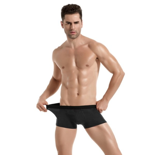 Fashion Sexy Men's Mens Underwears Panties Shorts Boxers Men's Cotton Underwear Solid Male Underwear