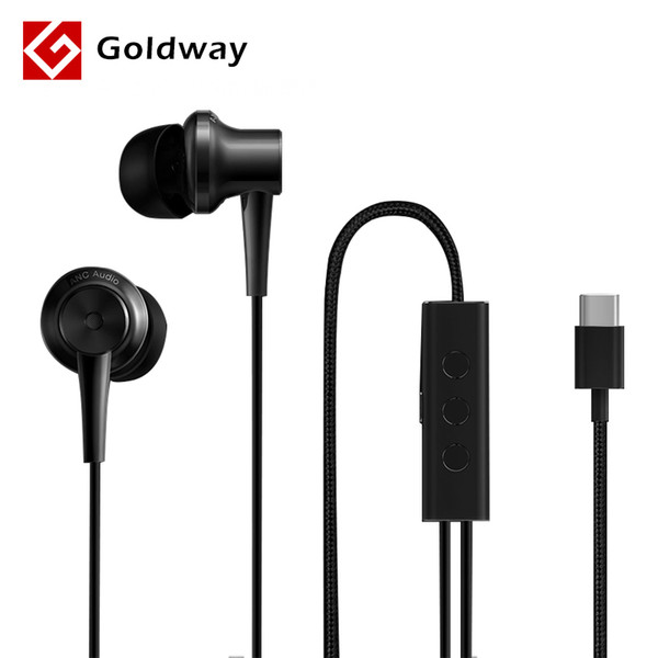 ff77388caaf 100% Original Xiaomi ANC Earphone Type C Noise Reduction Earphone Wired  Control With MIC For