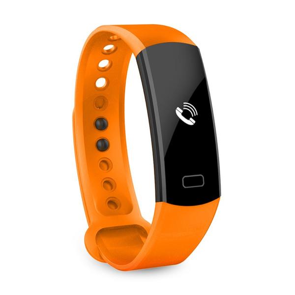 C07 Esporte SmartBand Bluetooth 4.0 Inteligente Pulseira Relógios de Pressão Arterial de Freqüência Cardíaca Pulseira Inteligente Moda Homem Mulher Pulseira