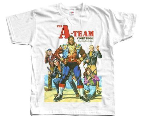THE A-TEAM comic book Ver. 3 T SHIRT all sizes S to 5XL Printed Round Men T shirt Cheap Price top tee New 2018 Fashion Summer