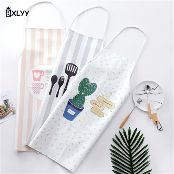 BXLYY Kitchen Barbecue Apron Pu Creative Apron Kitchen Home Half Home Decoration Accessories Wedding Favors and Gifts.7z