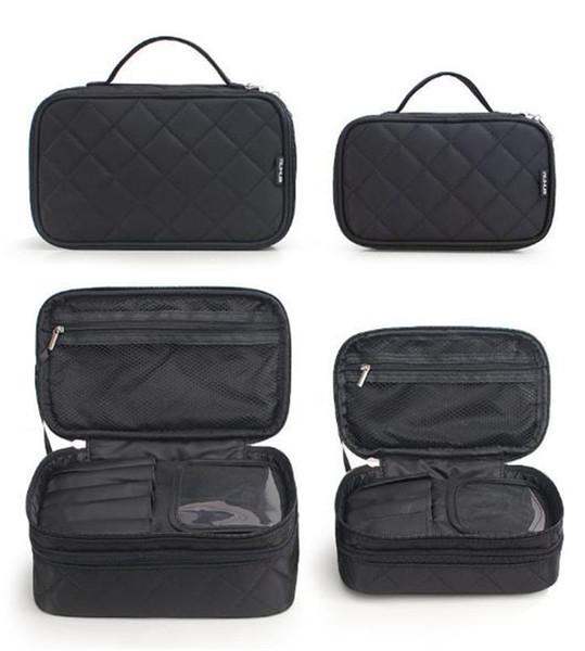 2018 versione coreana della donna Lingge borsa cosmetica modelli creativi di nylon di alta qualità impermeabile sacchetto di lavaggio Borse cosmetiche supporto all'ingrosso