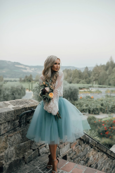 2019 Modest Long Bridesmaid Dresses See Through Two Pieces Honor Of Bridesmaid Formal Gown Wedding Party Guest Dresses
