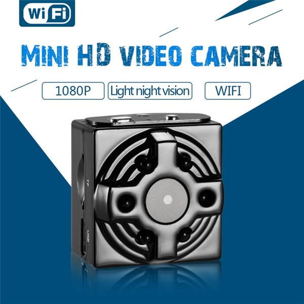 64GB WiFi Kamera HD 1080P Wireless Mini Kamera Nachtsicht Kleine Sicherheit Cam mit Motion Detection Kindermädchen Cam für iPhone / Android / iPad / PC