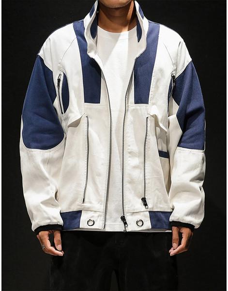 giacche bianche particolari uomo