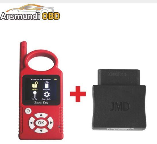 New Russia Spanish Portuguese Handy Baby Car Key Copy Auto Key Programmer for 4D/46/48 Chips + JMD Assistant G Chip Copy Function