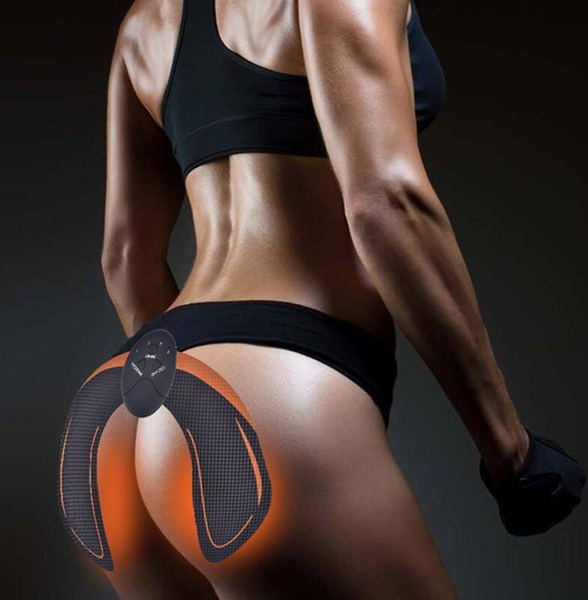 Silicone Gel EMS Hip Pad Ménage Hip Trainer Ass Builder Buttock Tighter Lifter Massager Vibration Électrique Stimulateur Musculaire dhl