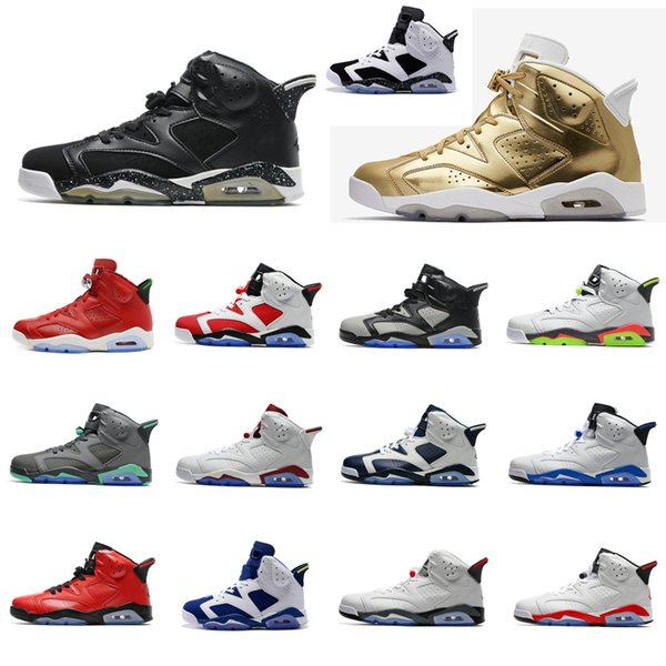 Cheap Men Retro 6s basketball shoes for sale J6 MVP Red Toro Gold Blue Oreo Maroon Cement AJ6 Jumpman VI air flights sneakers boots with box