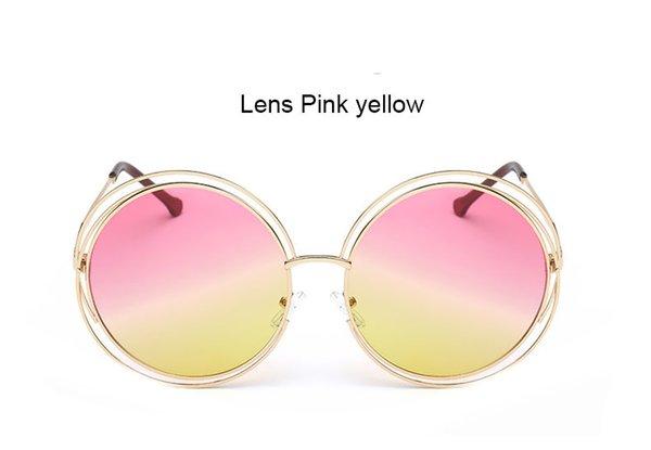 XF24 Розовый Желтый