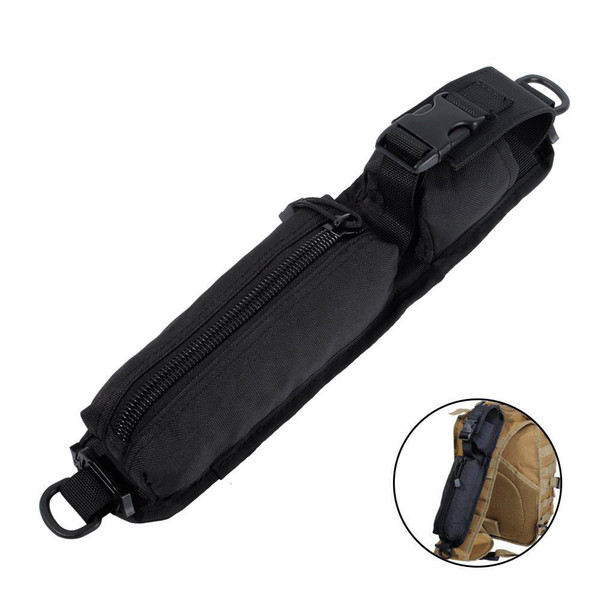 Tactical MOLLE Accessory Pouch Backpack Shoulder Strap Bag Hunting Tools Pouch Holds Flashlight Knife Keys Pen etc