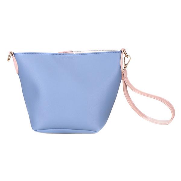 79fcfb0d9443 Luxury Brand Designer Bucket Bag Women Leather Wide Strap Shoulder Bag  Handbag Large Capacity Crossbody Color 4 Lby2 Cute Purses Shoulder Bags For  ...