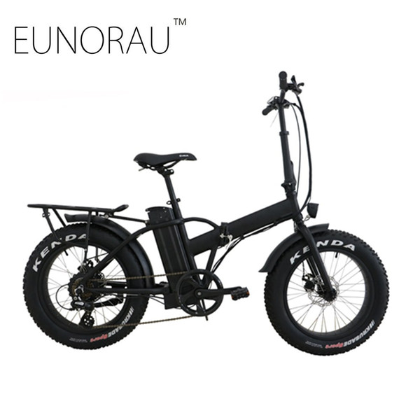 top popular Drop shipping USA CANADA High Speed Fat tire electric bike 20 inch folding electric bicycle 2020