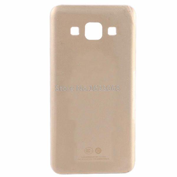 Para Samsung Galaxy A3 carcasa de la batería de la contraportada metálica carcasa completa negro oro blanco