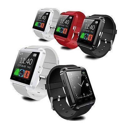 Montre Bluetooth Smart Watch U8 Montre Sport avec Podomètre Message SMS Sync Rappel d'Appel à Distance Pour IOS Android