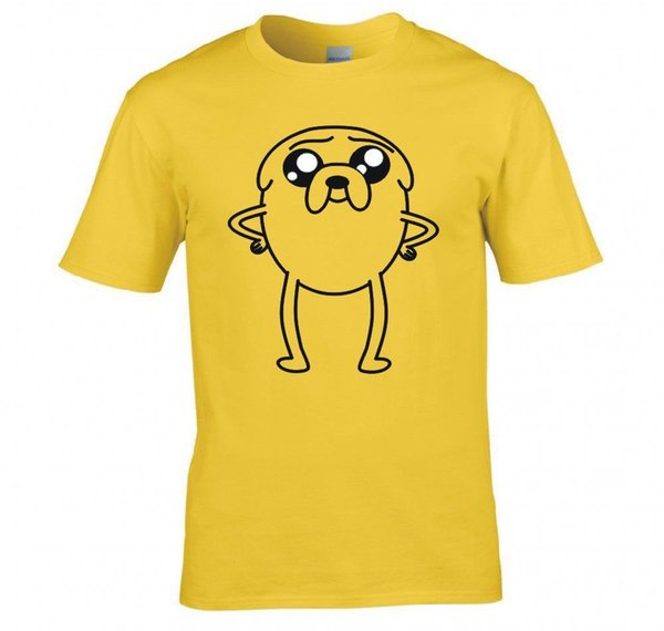 """Details zu ADVENTURE TIME """"JAKE THE DOG, PUPPY EYE'S"""" T SHIRT NEW Casual Funny free shipping Unisex tee gift"""