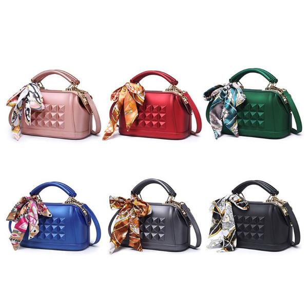 NoEnName_Null High Quality Shoulder Bag Fashion Women PVC Shoulder Bag Messenger Satchel Tote Purse Handbag Crossbody