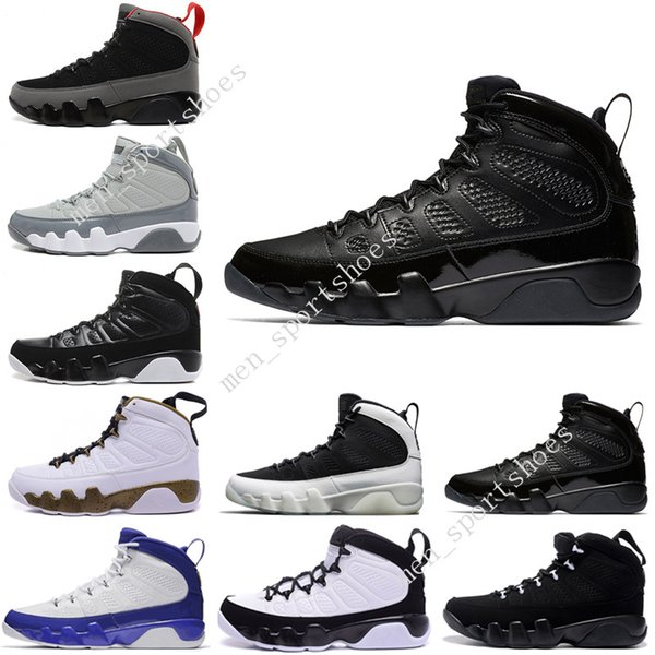 2018 Cheap New 9 9s Oreo mens basketball shoes space Jam The Spirit Tour blue Cool Grey sports Sneakers Sport Outdoor designer Shoes US 7-13