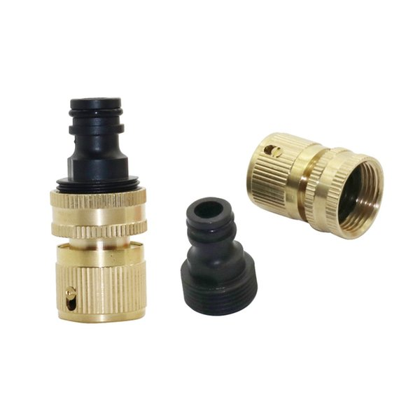 """3/4"""" Female Thread Joints and 3/4"""" Male Thread Quick Connectors Car Wash Fittings Garden Irrigation Water Kits 1 set"""