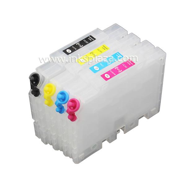 Cartouche d'encre rechargeable GC21 compatible avec Ricoh GX 3050 2500 2050N GX3000 GX5050N GX3000 imprimante avec puce ARC