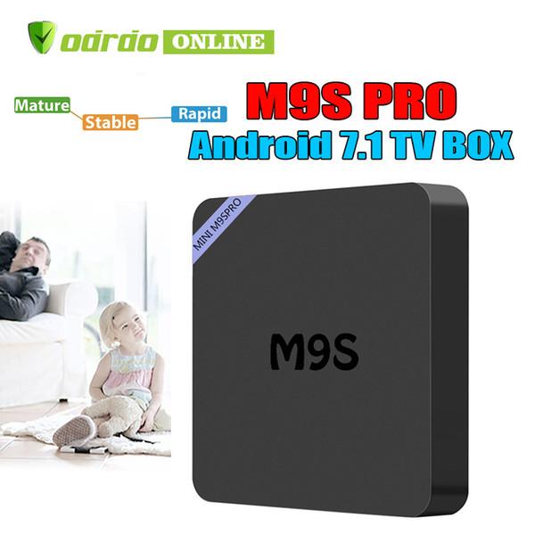 Factory Sale M9S PRO New MXQ Pro 4K Smart Android 7.1 TV Box Rockchip RK3229 Quad Core Google Set Top Box Media Player