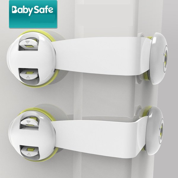 Wholesale Baby Safety Gear Child safety lock finger protection Toilet cabinet door refrigerator lock drawer lock baby protection 2112