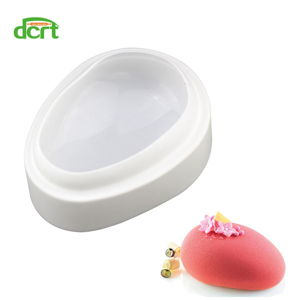 Easter Eggs Shape Silicone Mold Cake Decorating Tool DIY Breads Candies Novelty Cake Pans Making Art Cake Baking Tools