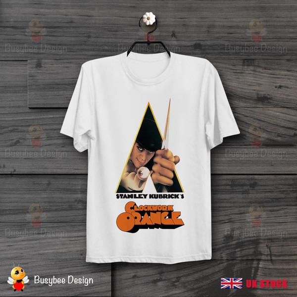 Laranja Mecânica Filme 70 s Retro CooL Poster Vintage Unisex camiseta B168