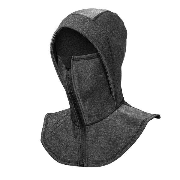 ROCKBROS Thermal Fleece Ski Headgear Windproof Skiing Bibs Snowboard Neck Face Mask Snow Sport Hat Unisex