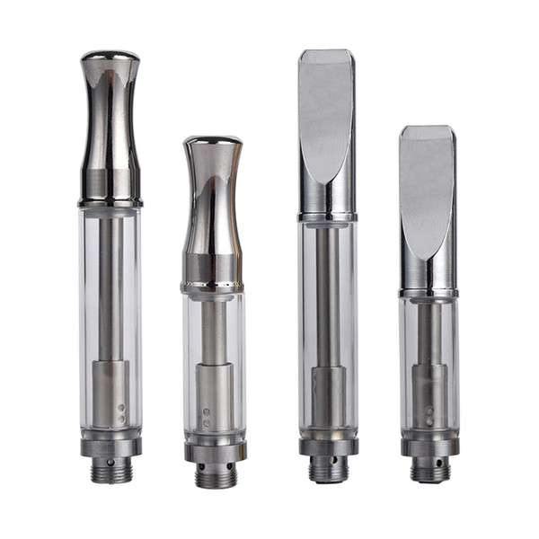 92A3 Pyrex Glass vape Cartridge 510 Thread Vaporizer CE3 Atomizer Metal Mouthpiece vape tanks Dual Coil Vapor For O Pen LO Battery
