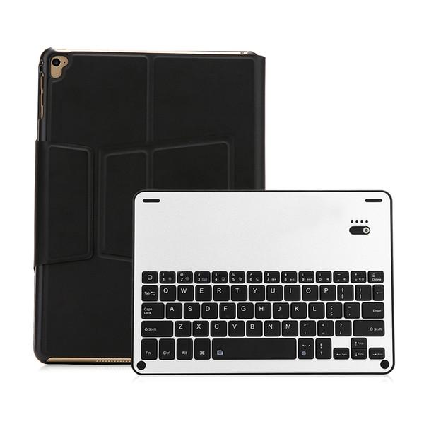 XD-105L Bluetooth Tablets Keyboard Wireless 64 Keys Keyboard with Leather Case for IOS System ipad air1/ ipad air2/ipad pro 9.7