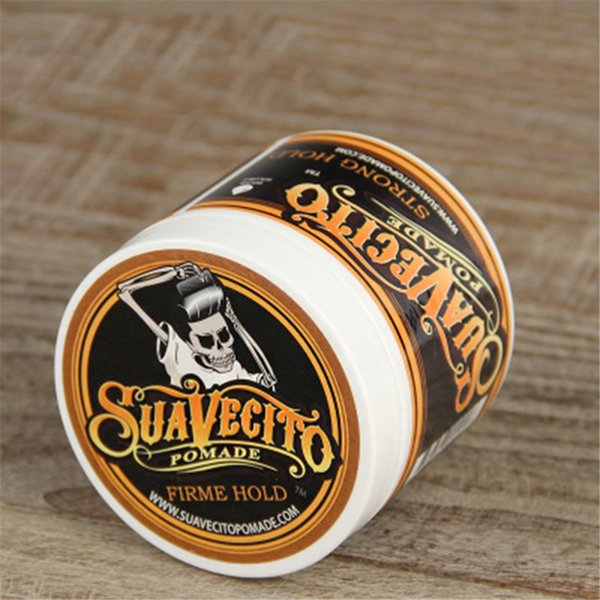 Suavecito pomade hair waxe trong tyle re toring pomade hair gel tyle tool firme hold big keleton licked back hair oil wax 3006056