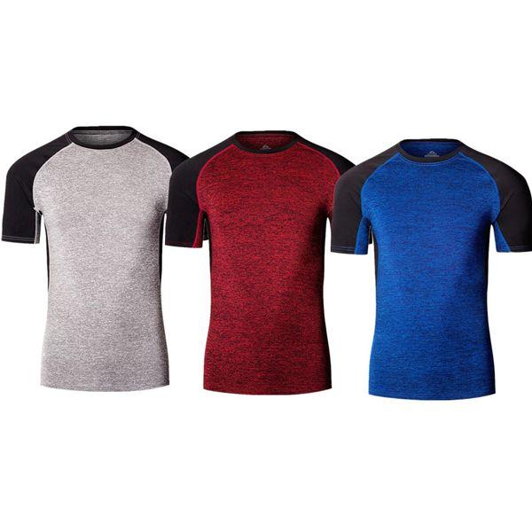 Running men rashguard compression football tight Quick-Dry fitness gym training men Basketball wicking jersey 1105