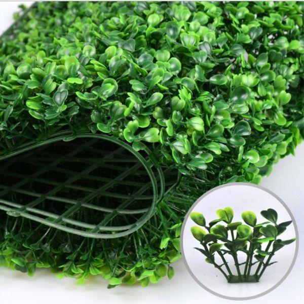 Envío gratis Césped Artificial estera de plástico estera del árbol topiary Milán Hierba para el jardín decoración de la boda en casa Plantas Artificiales
