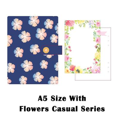 A5 Blumen lässig
