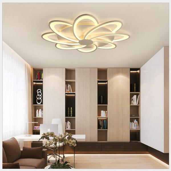 FULOC Acryl Moderne Led deckenleuchter lichter klassische Für Wohnzimmer Schlafzimmer Home Dec lampara de techo led moderna Leuchte