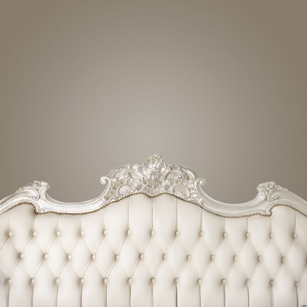 baroque bed headboard tufted bed photography backdrop thin vinyl photo studio background wallpaper F-2523