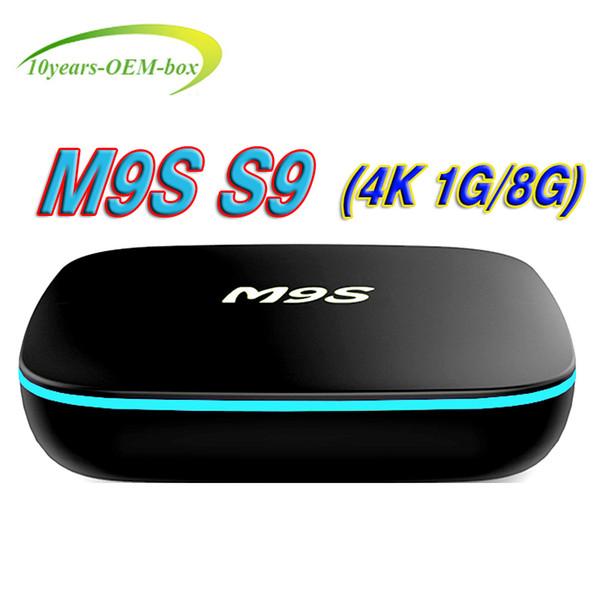 2018 OEM Android 7.1 M9S S9 4K tv box Cheapest RK3229 Quad-Core 1GB 8GB Smart Tv Box WiFi 3D HDMI TV Cheap Set-top Box Media Player