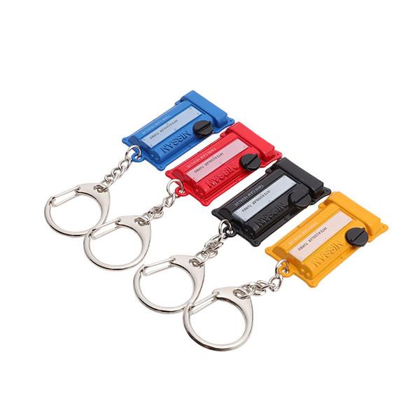 Porte-clés Porte-clés Porte-clés Porte-chaîne Pour NISSAN Turbo Couvercle Du Moteur Styling Pendentif Accessoires YSS-0257