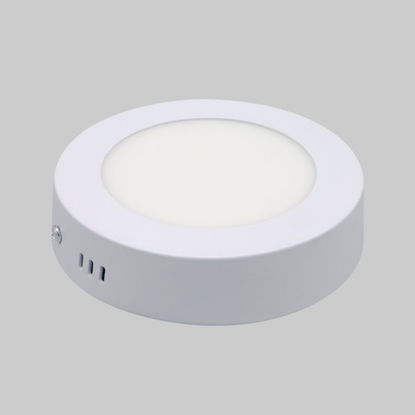 LED Downlight 6W 12W Dimmable Round LED Panel Light High Brightness Surface Mounted LED Downlight Kitchen Bathroom Balcony Living Room