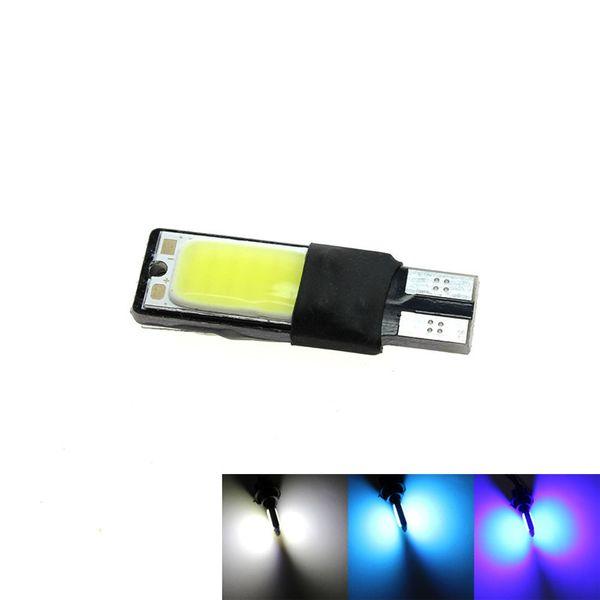 1x T10 LED COB SMD COOL ICEBLUE for Car Side Light Interior Park Light 12V Wedge