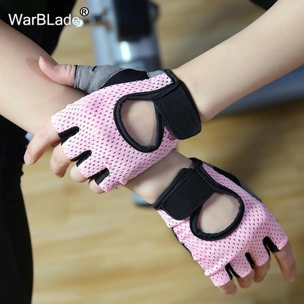 Thin Breathable non-slip Sports Fitness Gloves Women Men Gym Weightlifting Cycling yoga Bodybuilding training half finger gloves