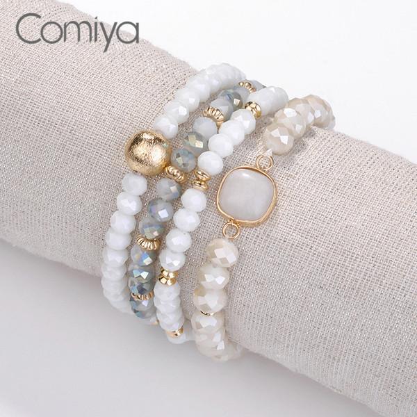 Comiya Vintage Bracelets For Women Pulseira Feminino Bracelet Zinc Alloy Pulseras Mujer Moda 2018 Femme Statement Pulseiras