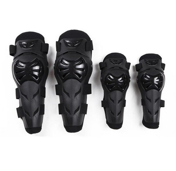 4pcs Kit Elbow Knee Equip Body Adult Elbow Knee Armor Guard Pads Protect Guard For Motorcycle Cycling Skating EEA213