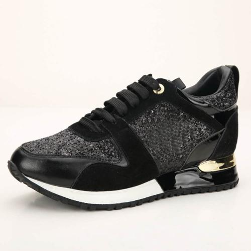 Luxury Nice Women Sports Shoes Luxury Casual Leather Shoes Men All Leather Sport Sneaker Personality Trainer Dress Party Shoe Daily Runner