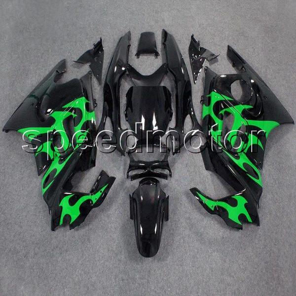 23 цвета+подарки зеленый пламя CBR 600F3 97 98 мотоцикл капот обтекатель для HONDA CBR600 F3 1997 1998 ABS пластиковый комплект
