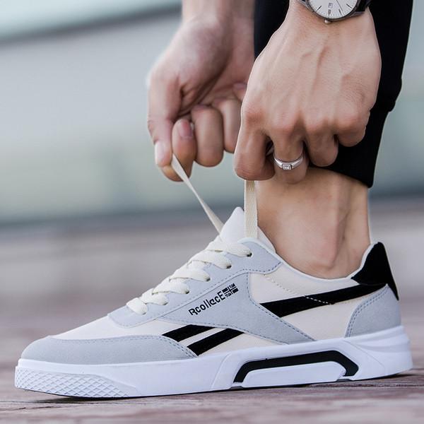 Acheter Chaussures De Sport Pour Hommes Nouveaux Sauvages Version Coréenne De La Tendance De La Mode Des Jeunes Garçons Respirant Chaussures À Fond