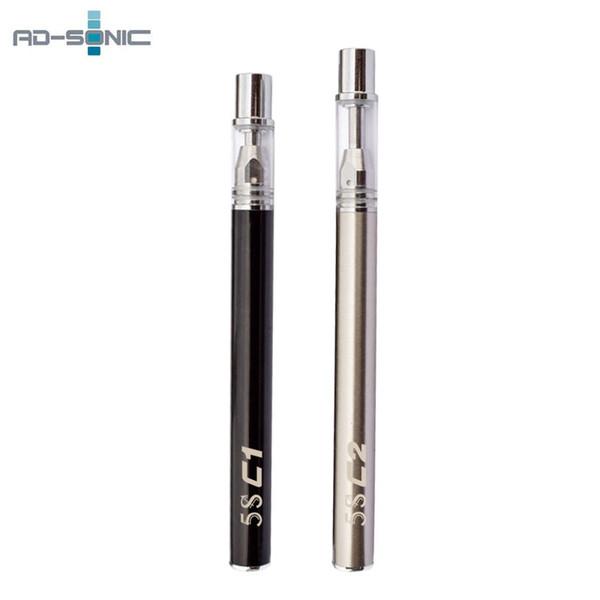 E Cigarette 5S C1 C2 Vapor Disposable Vape Pen 5S CC Glass Tank Vape Cartridge Pyrex Glass Ceramic Coil Thick Oil Starter Kits